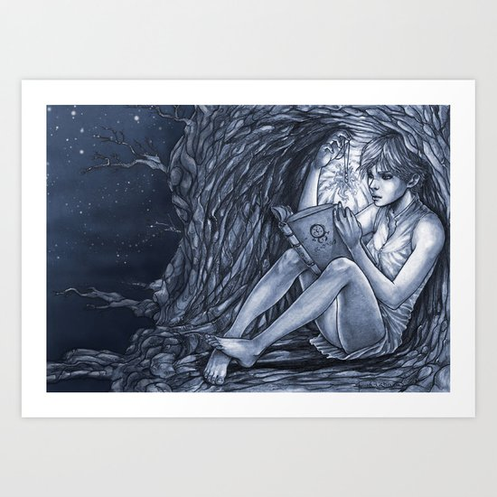 Fugue Art Print