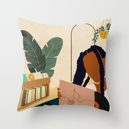 Stay Home No. 4 Throw Pillow