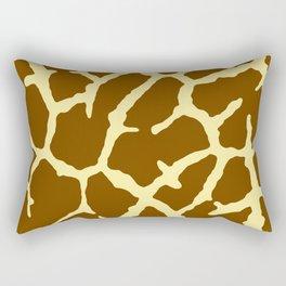 Giraffe Print Rectangular Pillow