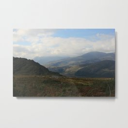 Black Valley Metal Print