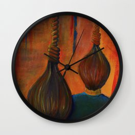 Strange Fruit Wall Clock