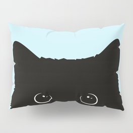 Black cat I Pillow Sham