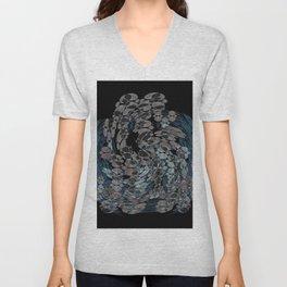 Elegant Stone Whirlwind Earth Elements Abstract Unisex V-Neck