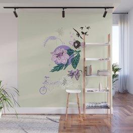 Flower Secret Wall Mural
