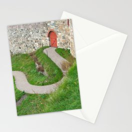 Oslo Fortress - Red Door Stationery Cards