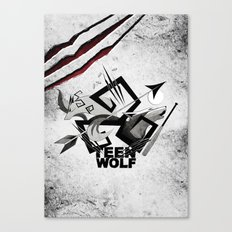 Teen Wolf: Part of the Pack Canvas Print