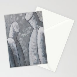 We don´t have to stay. Stationery Cards