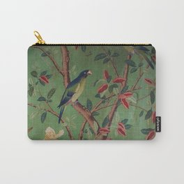 Green Dream Chinoiserie Carry-All Pouch