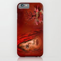 Lady in red - Island Slim Case iPhone 6s