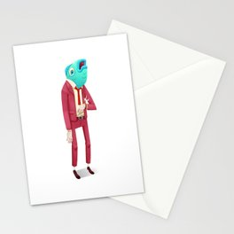 Fish Guy Stationery Cards