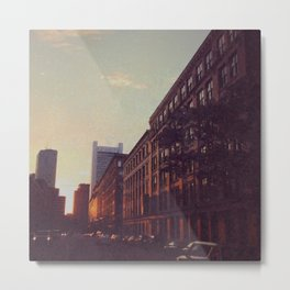 Streets of Bostonia Metal Print