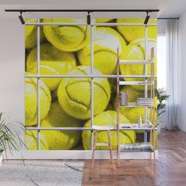 Tennis Balls Wall Mural