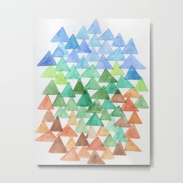 Forest of Tris Metal Print