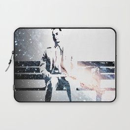 FORREST ON A BENCH & COSMOS Laptop Sleeve