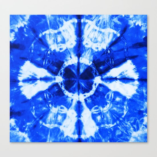 It's Bloomin' Blue Canvas Print