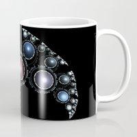 bane Mugs featuring Dragon Bane by Anne Pearson - Visual Artist