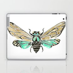 Summer Cicada – Mint & Tan Palette Laptop & iPad Skin