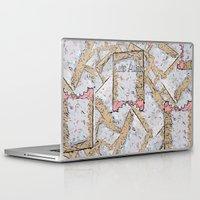 cookie Laptop & iPad Skins featuring Cookie by Kris alan apparel