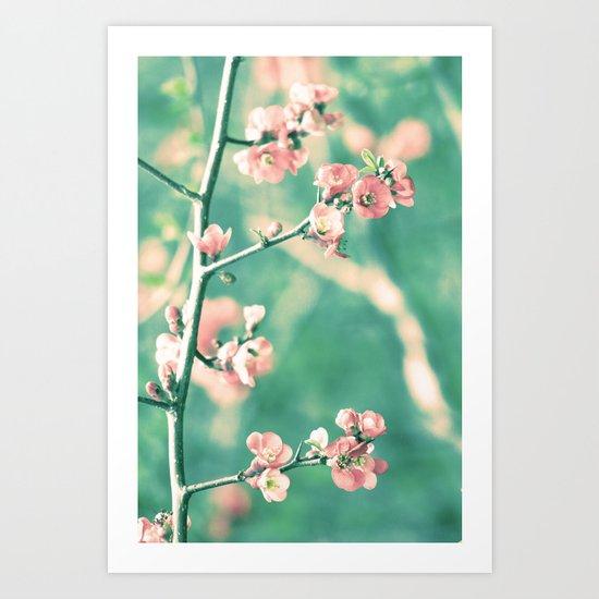 Softly Spring Love Art Print