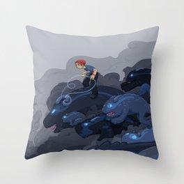 Rainy Day Activities Throw Pillow