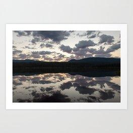 Lava Lake Sunrise Art Print