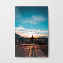 Sea to Sky Metal Print