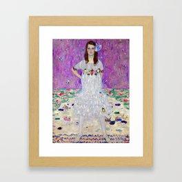Gustav Klimt Mada Primavesi Framed Art Print