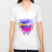 olivia joy V-neck T-shirts featuring Joy by haroulita