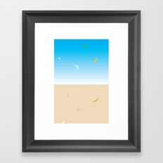 skyfall Framed Art Print