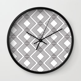 Skinny Rombs - Wall Clock