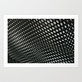 perforation 3 Art Print