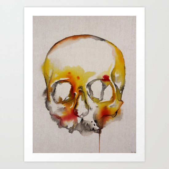 IN which we die Art Print