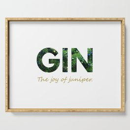Gin - The joy of juniper Serving Tray