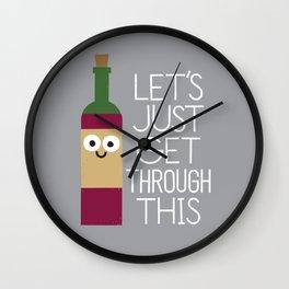 When You're Feeling Merlot Wall Clock
