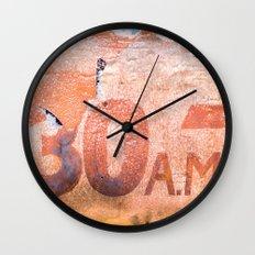Collide 3 Wall Clock