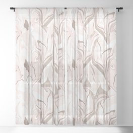 Marble Sheer Curtain