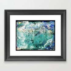 Venus Mine (inverted) Framed Art Print
