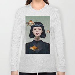 Goldfish Dreaming Long Sleeve T-shirt