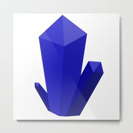 Beautiful Blue Gems Metal Print