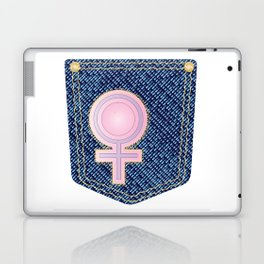 Venus Denim Pocket Laptop & iPad Skin