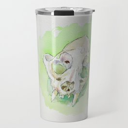 Caracal Skull Travel Mug