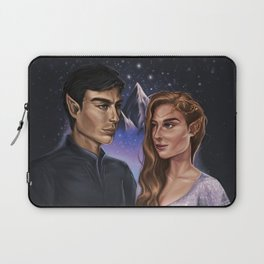 High Lord and Lady of the Night Laptop Sleeve