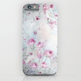 Rose Meadow iPhone Case