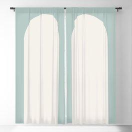 Minimal Arch - Sage Blackout Curtain