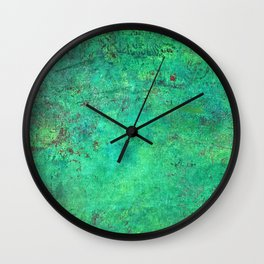 Getting Chirish on St. Patrick's Day Wall Clock
