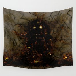 Revenant of a Childhood Toy Wall Tapestry