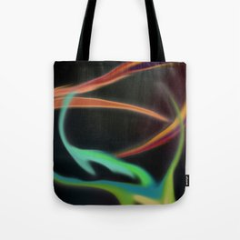 Light Lines Tote Bag