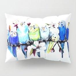 Bloomin' Budgies Pillow Sham