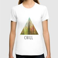 chill T-shirts featuring Chill  by Corentin Mas