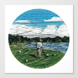 Golf Life Canvas Print